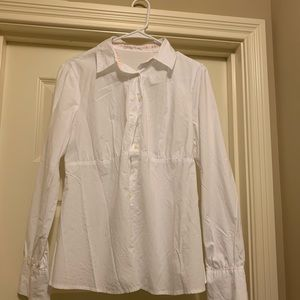 Old Navy White Button up Shirt